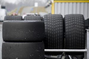 Unbestaendiges Wetter brauchte viele Reifen
