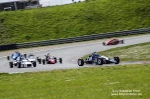Die AvD Histo Race Cup FFR war früher die Einsteigerklasse für künftige Formel Piloten und als Formula Ford bekannt. Heute im Rahmen der AvD Histo nicht nur was für junge Hüpfer.